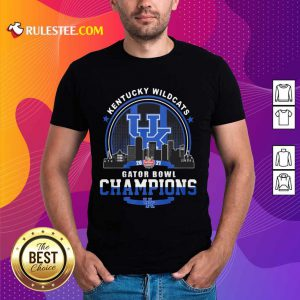 Kentucky Wildcats Gator Bowl Champion Shirt - Design By Rulestee.com