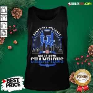 Kentucky Wildcats Gator Bowl Champion Tank Top- Design By Rulestee.com
