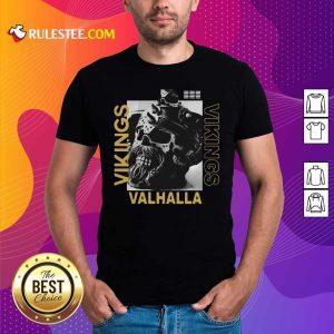 Vikings Yule Valhalla Shirt - Design By Rulestee.com