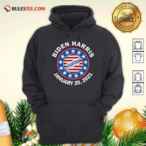 Biden Harris January Inauguration American Flag Hoodie - Design By Rulestee.com