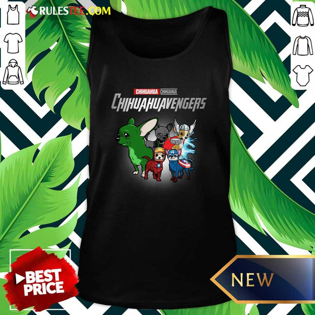 Chihuahua Marvel Avengers Chihuahuavengers Tank Top - Design By Rulestee.com