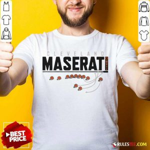 Cleveland Browns Maserati Shirt - Design By Rulestee.com
