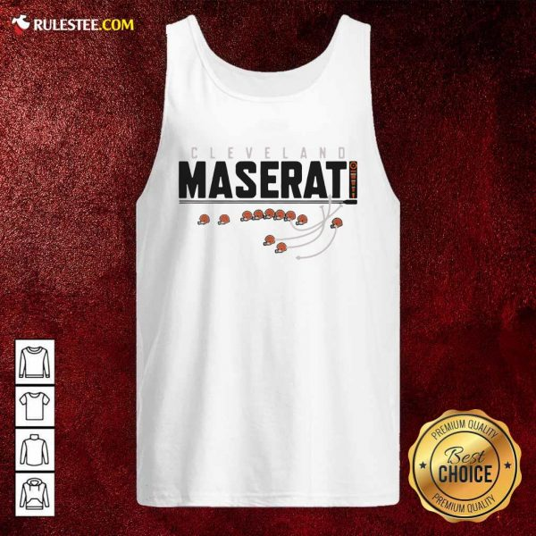 Cleveland Browns Maserati Tank Top - Design By Rulestee.com