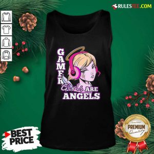 Gamer Girls Are Angels Tank Top - Design By Rulestee.com