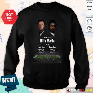 Josh Allen Vs Stefon Diggs In A Buffalo Bills Production Bills Mafia 2021 Sweatshirt - Design By Rulestee.com