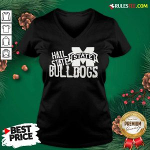 Hall State Bulldogs Champion V-neck - Design By Rulestee.com
