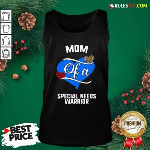 Mom Of A Special Needs Warrior Heart Tank Top - Design By Rulestee.com