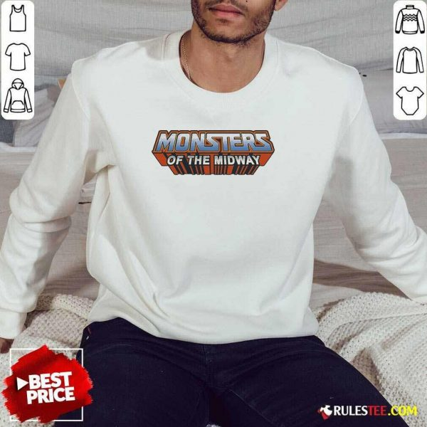 Chicago Bears Monsters Of The Universe Sweatshirt - Design By Rulestee.com