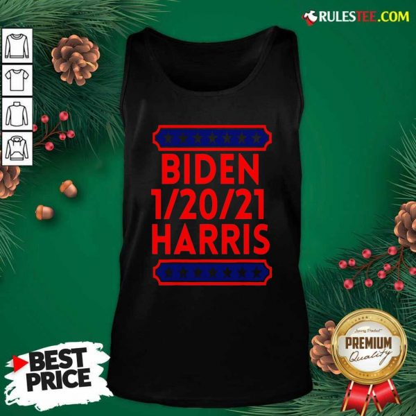 Biden Harris Presidential Inauguration Day 1202021 Tank Top - Design By Rulestee.com