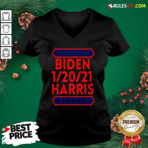 Biden Harris Presidential Inauguration Day 1202021 V-neck - Design By Rulestee.com