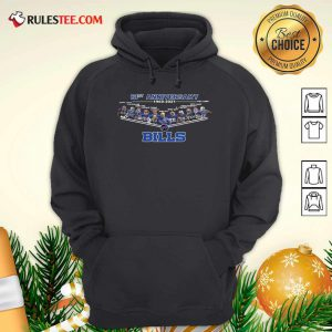 Buffalo Bills Football 61st Anniversary Hoodie - Design By Rulestee.com
