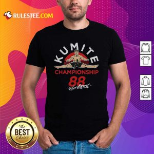 Kumite Championship 88 Bloodsport Shirt - Design By Rulestee.com