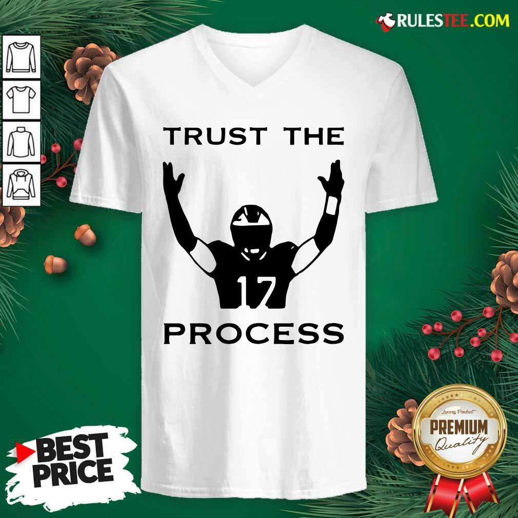 17 Trust The Process V-neck - Design By Rulestee.com