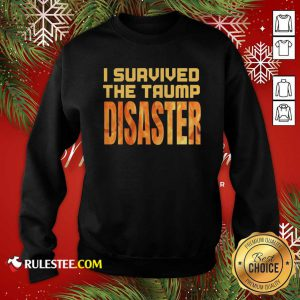 I Survived The Trump Disaster Election Sweatshirt - Design By Rulestee.com