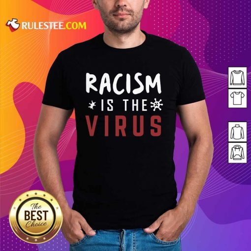 Delighted Racism Is The Virus Shirt
