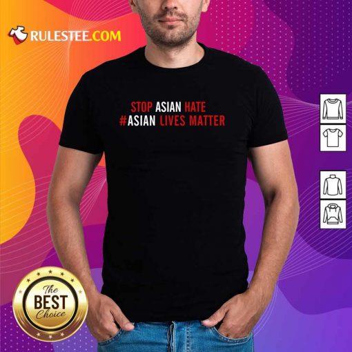 Ecstatic Lives Matter Stop Asian Hate Shirt