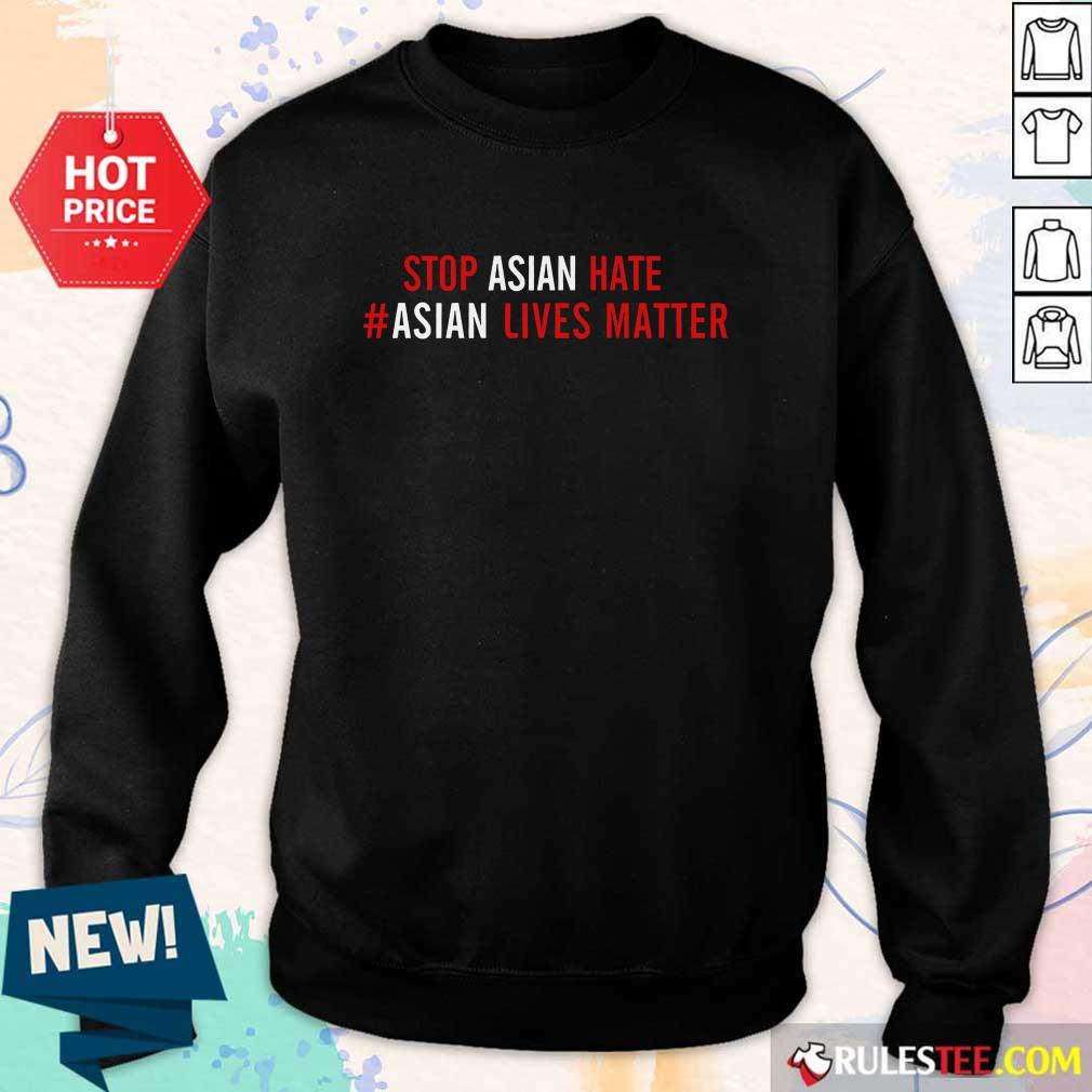 Ecstatic Lives Matter Stop Asian Hate Sweater