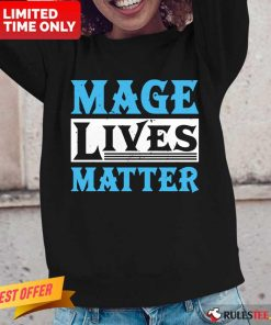 Excited Mage Lives Matter Long-sleeved