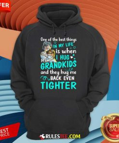 Excited One The Best Things Grandkids Hoodie