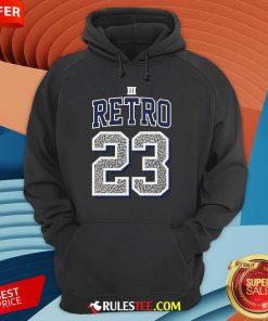 Funny Jordan 3 Retro 23 Georgetown Hoodie
