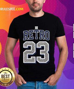Funny Jordan 3 Retro 23 Georgetown Shirt
