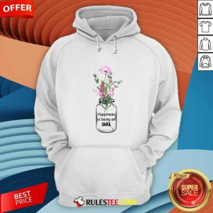 Happiness Is Being An Oma Mother Day Hoodie - Design By Rulestee.com
