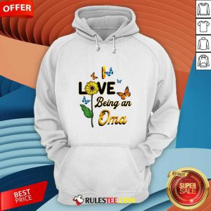 I Love Being An Oma Sunflower Mother Day Hoodie - Design By Rulestee.com