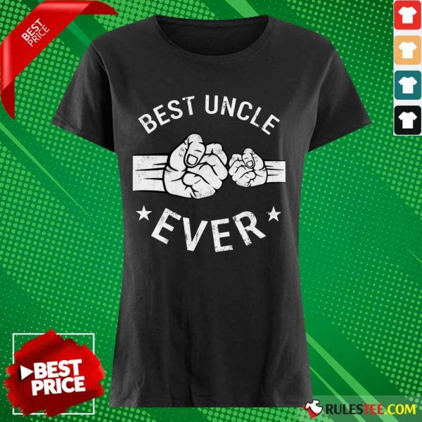 Nonplussed Best Uncle Ever Ladies Tee