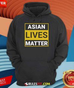Overwhelmed Asian Lives Matter Hoodie