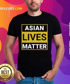 Overwhelmed Asian Lives Matter Shirt