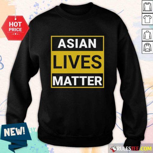 Overwhelmed Asian Lives Matter Sweater