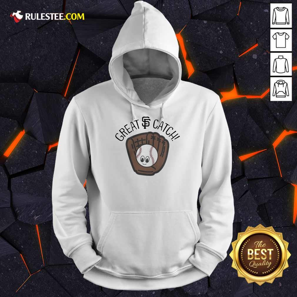Perfect San Francisco Giants Toddler Great Catch Hoodie