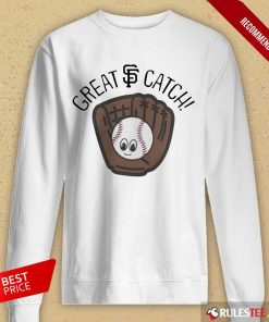 Perfect San Francisco Giants Toddler Great Catch Long-Sleeved