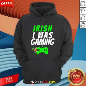 Video Gamer Saint Patricks Day Gaming St Pattys Day Hoodie - Design By Rulestee.com