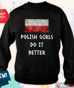Pretty Polish Girls Do It Better Sweater