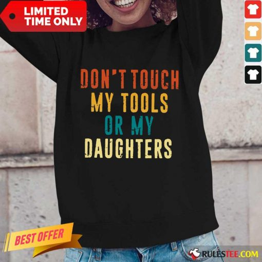 Relaxed Touch Tools Daughters Vintage Long-sleeved