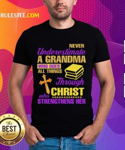 Surprised Underestimate A Grandma Her Shirt