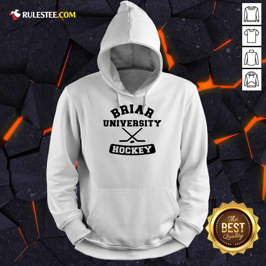 Top Briar University Hockey Hoodie