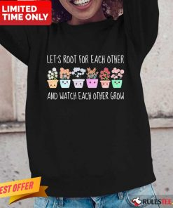 Wonderful Root Each Other Watch Each Long-sleeved