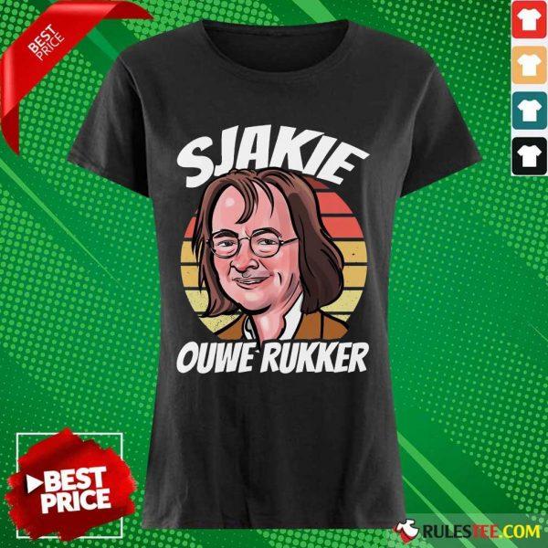 Wonderful Sjakie Ouwe Rukker Ladies Tee