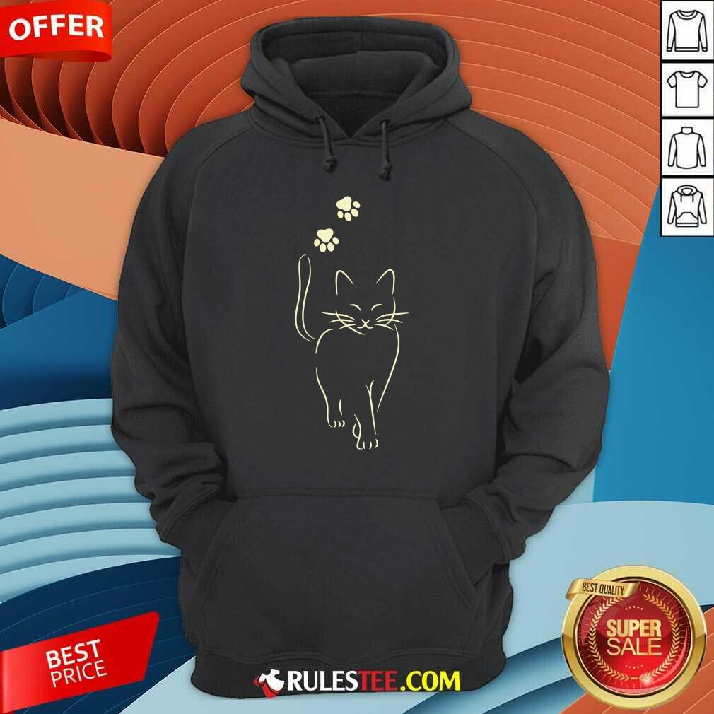 Awesome Paw Cat 2021 Hoodie