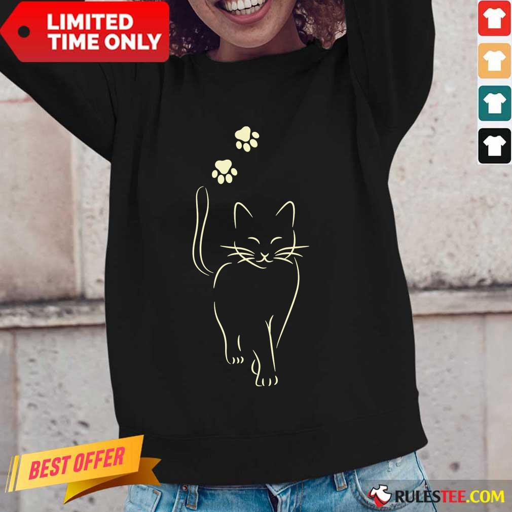 Awesome Paw Cat 2021 Long-Sleeved