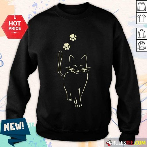 Awesome Paw Cat 2021 Sweater