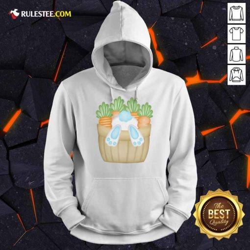 Cute Easter Bunny Cottontail Carrot Basket Hoodie