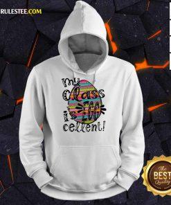 Excellent My Class Is Egg Cellent Hoodie