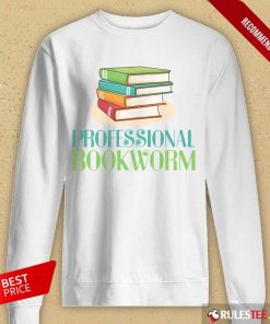 Excellent Professional Bookworm Long-Sleeved