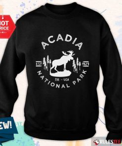 Funny Acadia National Park Sweater