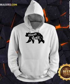 Funny Mama Bear Mothers Day Hoodie