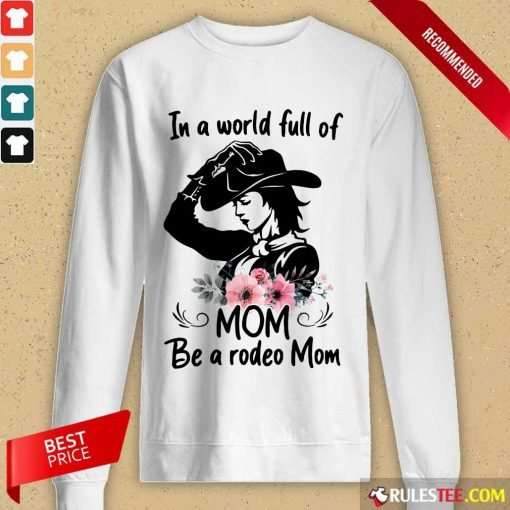Hot Flower Dog Mom The Woman The Myth The Bad Influence Long-Sleeved