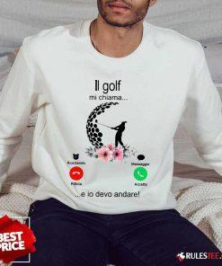 Hot Il Golf Mi Chiama Sweater